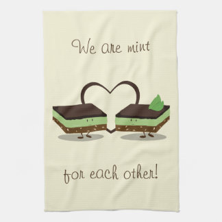 Mint Love Nanaimo Bars | Kitchen Towel