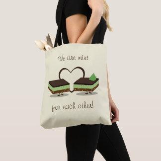 Mint Love Nanaimo Bars   Tote Bag