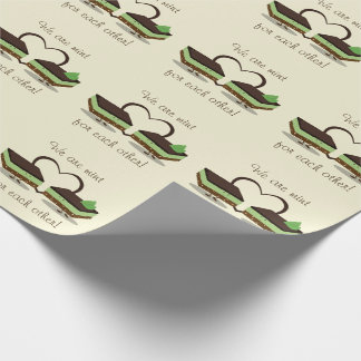 Mint Love Nanaimo Bars | Wrapping Paper