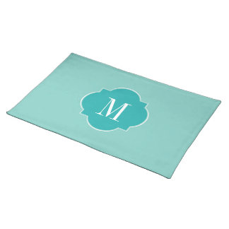 Mint Mint Green Solid Color Placemats