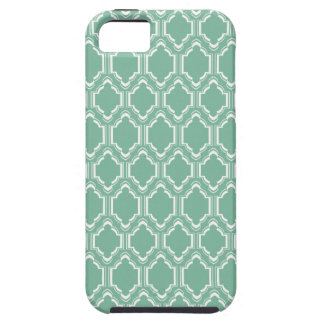 Mint Moroccan Pattern iPhone 5 Cover
