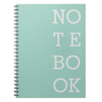 Mint Notebook