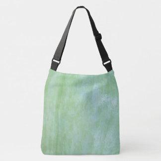 Mint or jade green garden squash photo crossbody bag