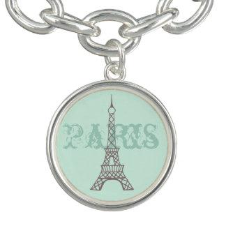 Mint Paris Charm Bracelet