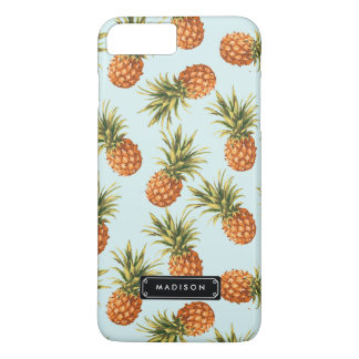 Mint Pineapple Personalized iPhone 8 Plus/7 Plus Case