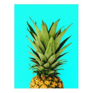 Mint Pineapple Top Postcard
