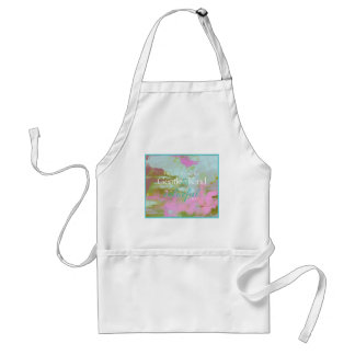 Mint pint colorful oil abstract gentle kind standard apron