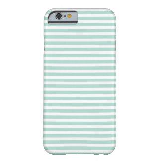 Mint Skinny Stripe iPhone 6 case