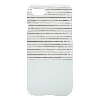 Mint Striped Iphone Case