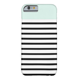 mint top stripes barely there iPhone 6 case