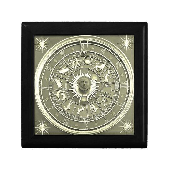 Mint Zodiac Wheel Gift Box