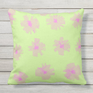 Minted Spring Outdoor Pillow