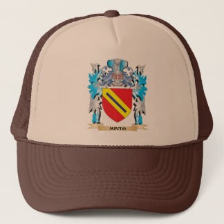 Minto Coat of Arms - Family Crest Trucker Hat
