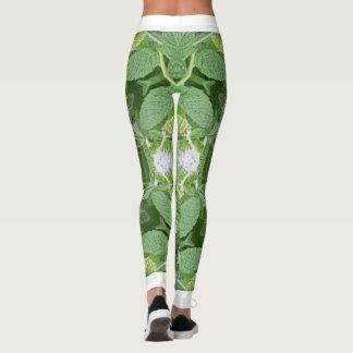 Minty fresh leggings by Michael E Wolfe