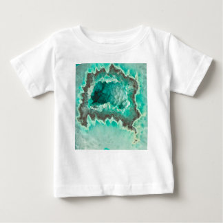Minty Geode Crystals Baby T-Shirt