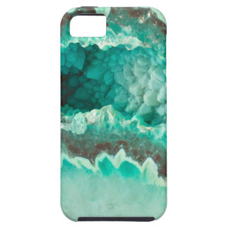 Minty Geode Crystals iPhone 5 Cover