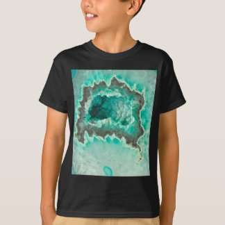 Minty Geode Crystals T-Shirt