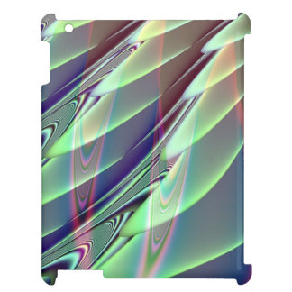 Minty Green Fractal iPad Cover