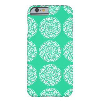 Minty Mandala Barely There iPhone 6 Case