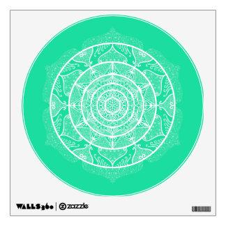 Minty Mandala Wall Decal