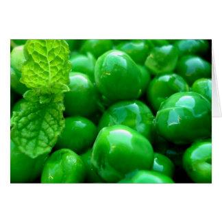 Minty Peas Card