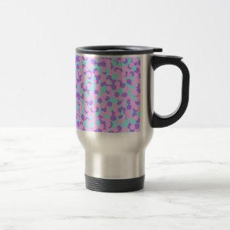 Minty Sweetheart Confetti Travel Mug