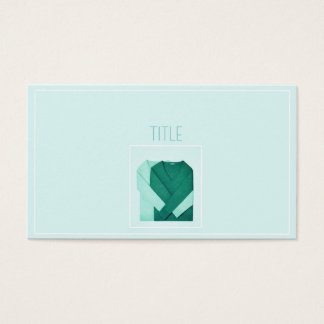 MINTY WARMTH BUSINESS CARD