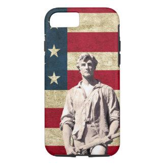 Minuteman Patriotic Flag Case-Mate iPhone Case