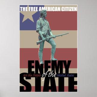 Minuteman Poster