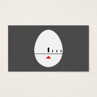 Minuterie d'oeufs - créez vos propres étiquettes cartes de visite