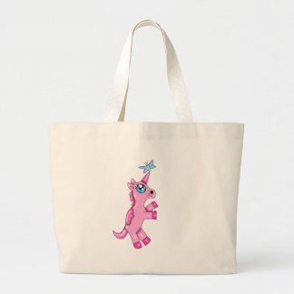 Minxi the Unicorn Large Tote Bag