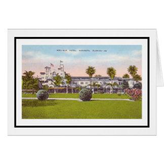 Mira Mar Hotel Sarasota, Florida Card