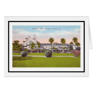 Mira Mar Hotel Sarasota, Florida Greeting Card