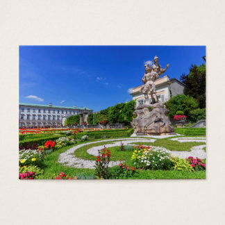 Mirabell palace and gardens, Salzburg, Austria Business Card