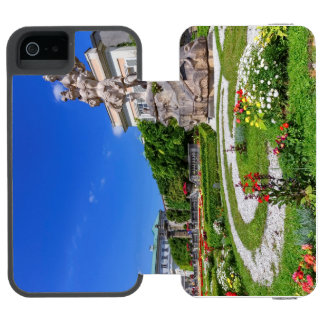 Mirabell palace and gardens, Salzburg, Austria Incipio Watson™ iPhone 5 Wallet Case