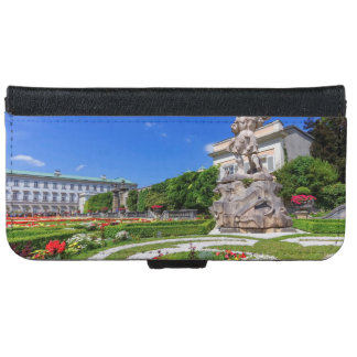 Mirabell palace and gardens, Salzburg, Austria iPhone 6 Wallet Case