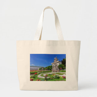Mirabell palace and gardens, Salzburg, Austria Large Tote Bag