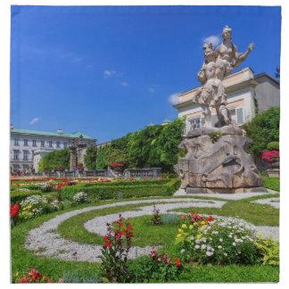 Mirabell palace and gardens, Salzburg, Austria Napkin