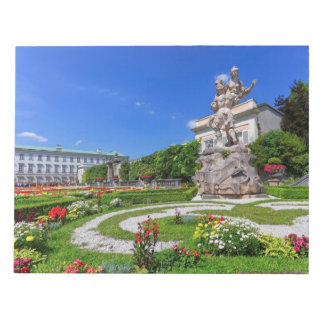 Mirabell palace and gardens, Salzburg, Austria Notepad