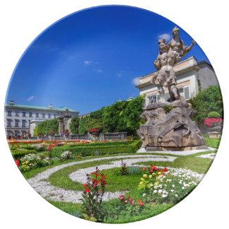 Mirabell palace and gardens, Salzburg, Austria Plate