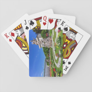Mirabell palace and gardens, Salzburg, Austria Playing Cards