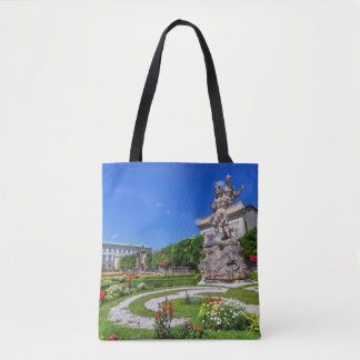 Mirabell palace and gardens, Salzburg, Austria Tote Bag