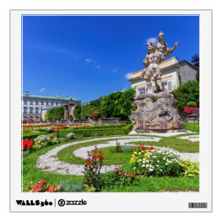 Mirabell palace and gardens, Salzburg, Austria Wall Decal