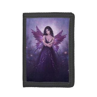 Mirabella Purple Butterfly Fairy TriFold Wallet