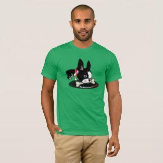 Mirabelle the boston terrier Hide a bone shirt