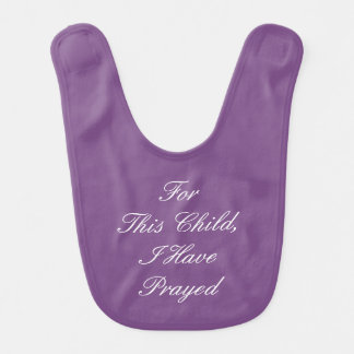 Miracle Baby Series Bib