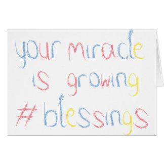 Miracle Baby - You're Expecting Card