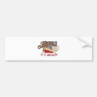 Miracle Cherry Pie Bumper Sticker
