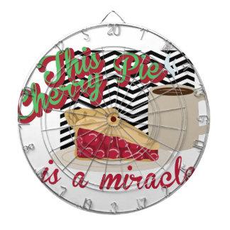 Miracle Cherry Pie Dartboard