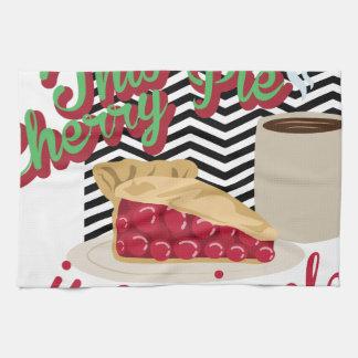 Miracle Cherry Pie Hand Towel